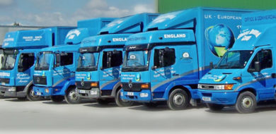 Shires removal services fleet - 1 a rr